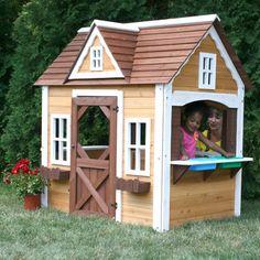 Swing-n-Slide Swing-n-Slide Cottage Playhouse