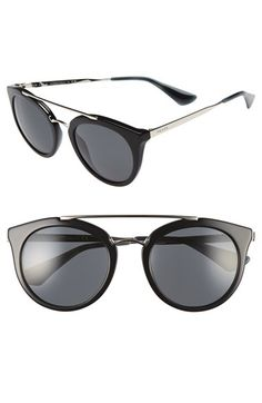 Free shipping and returns on Prada 52mm Cat Eye Sunglasses at Nordstrom.com. A…