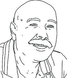 Bekijk de portret animatie van Huub Simons. Huub doet mee met de Kunst Kalender 2014.