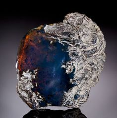 "Rare Blue Amber - wiki: ""Blue amber is amber exhibiting a rare coloration. It is most commonly found in the amber mines in the mountain ranges around Santiago, Dominican Republic, reportedly only from Palo Quemado mine. Although little known due to its rarity, it has been around since the discovery of Dominican amber."""