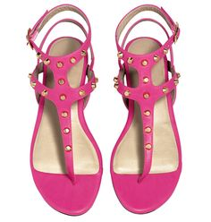 AVON - mark Berry Stylish Sandals With their shocking hot pink color and a comfy-cool gladiator style, our latest summer sandals are flat-out fabulous! Unique Shoes, Cute Shoes, Berry, Avon Mark, Stylish Sandals, Neon, Shoe Collection, Gladiator Sandals, Shoes Sandals