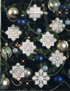 Snowflake Ornaments 1/2