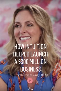 PooPurri founder Suzy Batiz and Marie Forleo discuss how trusting her gut helped her to turn everything around.  #Branding #PooPurri #Intuition #BusinessBranding #SuzyBatiz #MarieForleo #MarieTV #Interviews