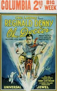 Theatrical poster for the 1925 silent film Oh, Doctor.