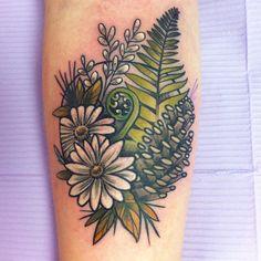 fern pine cone tattoo - Google Search
