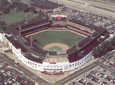 Old Comiskey Park: Chicago, Illinois and home of the White Sox.