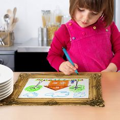 Fab.com | Mealtime Masterpiece Placemats by Fred & Friends