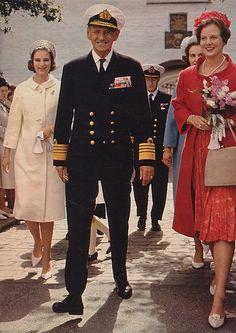 Queen Anne-Marie, King Frederik, Princess Benedikte and Queen Margrethe