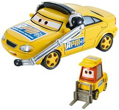 DisneyPixar Cars Collector DieCast Vehicle 2Pack Chief RPM and Petrol Pulaski * Click image to review more details.Note:It is affiliate link to Amazon.