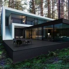 Amazing Modern Home  Double Tap if you'd live here! Want the secrets to getting your first 10000 followers FAST? In our new FREE ebook we share the little known strategies that we used to grow a combined audience network of over 8000000 followers!! Click Link in bio  @olivias.lifestyle  Unknown (dm) #home #modern #architecture