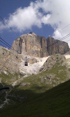 verso il Pordoi - Dolomites, province of Belluno, Veneto, Northern Italy