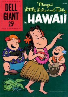 Little Lulu and Tubby in Hawaii