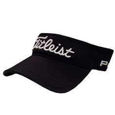 9057227ef92 Amazon.com  New 2015 Titleist Tour Performance Low Profile Visor COLOR   Black SIZE  OSFA  Clothing