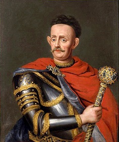 Jan Kazimierz Sapieha the Younger of Lithuania, voivode of Vilnius, held Imre Thokoly in check while Han III Sobieski led the Polish troops to the Siege of Vienna >>> Battle Of Vienna, Old Portraits, The Siege, Classic Paintings, European History, Lithuania, Eastern Europe, King Queen, Russia