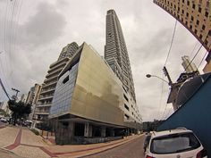 Fachada do Edifício Apogee na Avenida Atlântica de Balneário Camboriú-SC