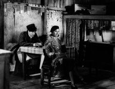 Jean Gabin and Michèle Morgan, Le quai des brumes, 1938