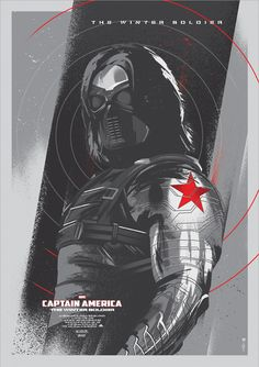 THE WINTER SOLDIER | Captain America: The Winter Soldier (2014) | fan art poster design