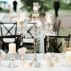 13 Glamorous Centerpieces With Serious Bling | Centerpieces, Bling ...