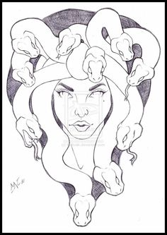 Medusa Tattoos, Designs And Ideas : Page 33
