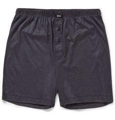 Hugo BossPrinted Modal and Cotton-Blend Pyjama Shorts