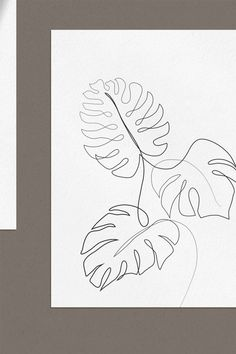 Leaf Drawing, Nature Drawing, Plant Drawing, Doodle Sketch, Sketch Drawing, Drawing Art, Abstract Line Art, Watercolor Paintings Abstract, Line Art Flowers