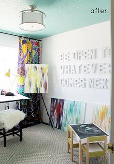 Julia Marcum's Artist Studio.