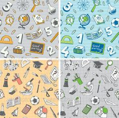 GraphicRiver School and Education Seamless Pattern 5942243