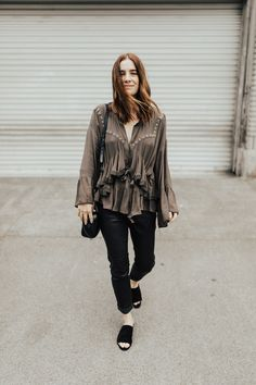 how to style your spring ruffles
