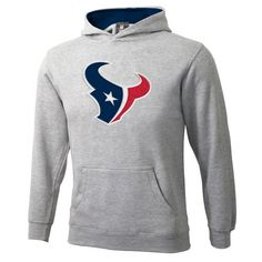Sportsman Boys' Houston Texans Pullover Fleece Hoodie