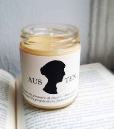14. Literary Candles | 20 Perfect Etsy Gifts For Book Lovers In Your Life
