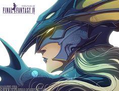 Final Fantasy IV- Kain by *HeavyMetalHanzo on deviantART