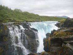 Brúarárfoss  - Bridgeriverwaterfall in Iceland