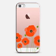 Casetify iPhone SE Classic Snap Case - Poppies by Sarah Hearts