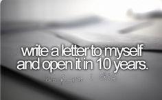 I think I'll do it