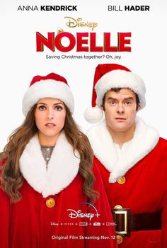 Poster for Disney original movie Noelle starring Bill Hader and Anna Kendrick. Coming to the Poster for Disney original movie Noelle starring Bill Hader and Anna Kendrick. Coming to the streaming service November 12 . Disney Dream, Disney Magic, Anna Disney, Disney Plus, Bill Hader, Anna Kendrick, New Movies, Movies To Watch, Good Movies