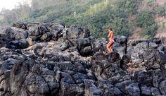 A Glimpse into Life on the Road with Billabong Girls | The Inertia Alessa Quizon, Waimea Bay Photo:  Megan Villa