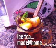 Receita Ice Tea de Limão por bimboca - Categoria da receita Bebidas