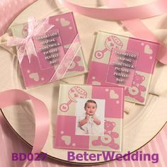 18pcs=9Set Free Shipping Cute Pink Bear Coasters  wedding gifts BD027 valentine gifts and love gifts wholesale    #coasters #coaster #photocoaster #giftset    Your Unique Wedding Favors http://sea.taobao.com/item/43760212794.htm