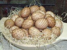 Easter egg decorations Czech Republic