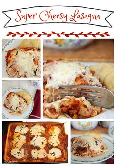 Super Cheesy Lasagna – Mamal Diane