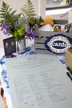 Wedding certificate instead of guest book.a lovely momento that now is framed and greets out guests to our home when they visit Wedding 2015, Our Wedding, Wedding Certificate, Lettering, Table Decorations, Book, Frame, Cards, Home Decor