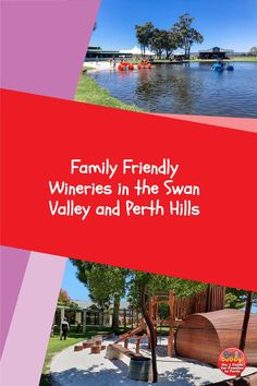 If you're looking for a child friendly winery in the Perth Hills or Swan Valley you're in luck – we have the ultimate list of the many Perth wineries that are fun for the whole family – not just Mum and Dad! These wineries feature fun playgrounds, indoor play activities and children's menus, giving the adults time to enjoy a glass or two of wine. Cheers! #swanvalley #perthkids Indoor Play, Perth, Friends Family, Playground, Swan, Activities, Children Playground, Swans, Outdoor Playground