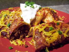 Easiest Beef Enchiladas Ever!. Photo by * Pamela *