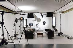 Studio 2 is an white or green screen film studio available for hire. Studio Room, Studio Setup, Studio Lighting, Video Studio, Film Studio, Production Studio, Photography Lighting Setup, Light Photography, Crop Pictures