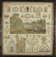 1823 Antique sampler from Amsterdam