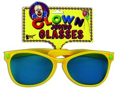 Jumbo Adult Clown Glasses