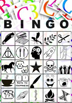 Blogging from A to Z April Challenge: A to Z BINGO for the #AtoZChallenge 2017
