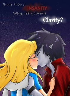 Fionna and Marshall Lee.. Awwww :) not really a watcher of Adventure Time, but it's still cute!!!