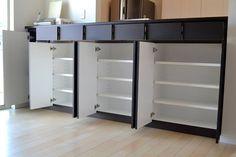カウンター下収納 サイズ:W2560×D320×H1070 家具本体税抜き価格:¥210,000.-
