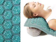 {Pranamat Eco Acupressure Mat} this mat hits all sorts of acupressure spots, helping to ease aches/pains & aid in relaxation - if it works, then its a great idea! :)